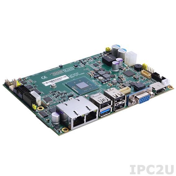 """CAPA843VHGGA-J1900-ZIO Процессорная плата формата 3.5"""" с Intel Celeron J1900, DDR3L SO-DIMM, VGA/LVDS/HDMI, 2xLAN, 2xCOM, 5xUSB, Audio, ZIO-разъем"""