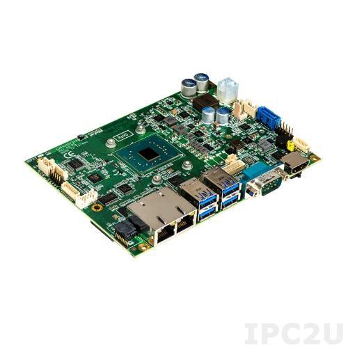 "CAPA313HGGA-N3350-ZIO Процессорная плата формата 3.5"", Intel Celeron N3350 2.4ГГц, 1xDDR3L SO-DIMM, 1xmSATA, 1xSATA 600, HDMI/LVDS, 2xCOM, 2xLAN, 4xUSB 3.0, 2xUSB 2.0, 1xUSB, 1xPCIex1, 1xLPC, 1xMini PCIe, 1xZIO Audio, -20C..+60C"