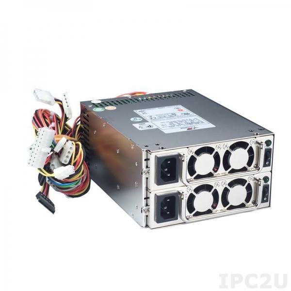 PS400-HRP Резервируемый Mini Redundant источник питания ATX переменного тока, вход 90...264В, 400Вт