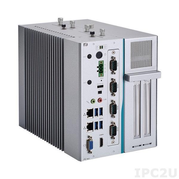 IPC962-512-DC-FL Многослотовый встраиваемый компьютер с Intel Core i7/ i5/ i3 6th/7th gen, Intel Q170,DDR4, HDMI, VGA, 4xCOM, 4xUSB 3.0, 1 x PCI Express Mini полноразмерная, 24VDC