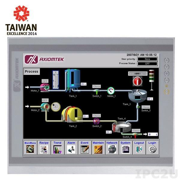 "P1177E-871 w/PCIe Панельная рабочая станция с 17"" TFT LCD, резистивный сенс. экран, сокет LGA1155 для Intel Core i7/i5/i3/Celeron/Pentium/Xeon, DDR3 SODIMM, 1x3.5""/2x2.5"" SATA HDD, 4xCOM, DVI-I, HDMI, 6xUSB, 2xGbE LAN, 2xPCIe x8, Аудио, 100-240В AC"