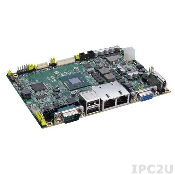 "CAPA841VHGGA-E3815 Процессорная плата формата 3.5"" с Intel Atom E3815 1.46ГГц, DDR3L SO-DIMM, VGA/LVDS/HDMI, 2xLAN, 4xCOM, 4xUSB, Audio"
