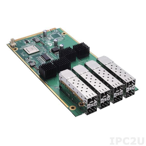 AX93312-8FI-RC Модульная сетевая карта для серверов сетевой безопасности серии NA5*, 8 портов SFP LAN без bypass-резервирования
