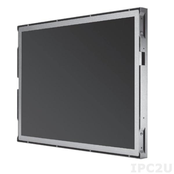 """P6171OR-24VDC-RS-V2 Бескорпусной 17"""" TFT LCD LED монитор, 1280x1024, яркость 250 нит, резистивный сенсорный экран (RS-232), VGA, DVI-D, HDMI, питание 24В DC"""