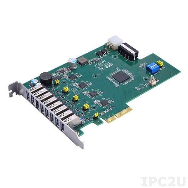 AX92321 4-портовая / 8-портовая USB 3.0 PCI Express карта с 4 независимыми хост-контроллерами