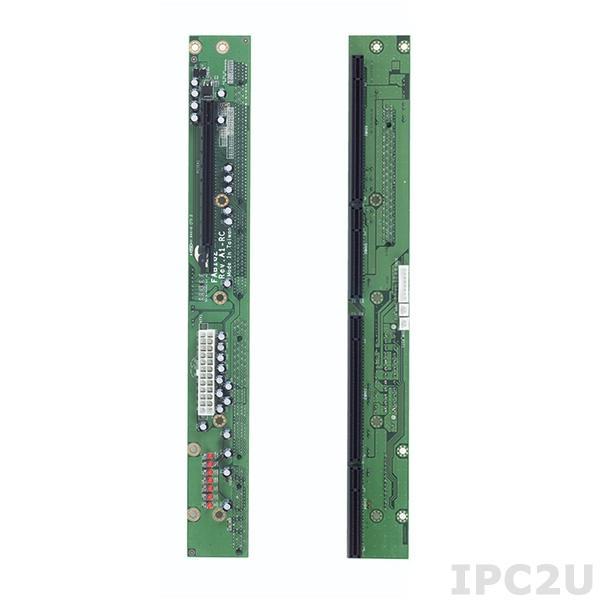 FAB102-RC Объединительная плата PICMG 1.3, 2 слота, 1xPICMG, 1xPCIex16