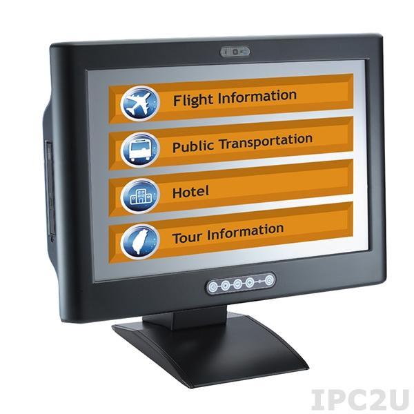 "IFO2175-873-NP w/o DRW Безвентиляторная панельная рабочая станция 17"" TFT LCD, резистивный сенсорный экран, процессор Intel Core i, DDR3, DisplayPort, 2xGB LAN, COM, 2xUSB 2.0, 2xUSB 3.0, камера 5Мпикс"