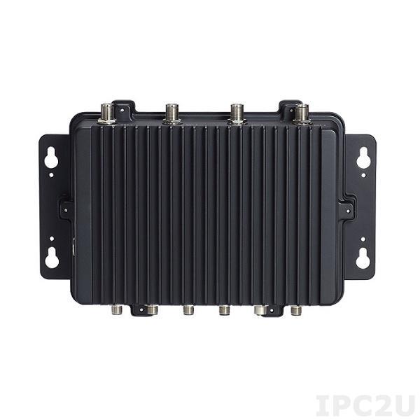 """eBOX800-511-FL-DC-3965U Защищенный встраиваемый компьютер с IP67, Intel Celeron 3965U, до 16Гб DDR4, VGA (M12), 1xGbE LAN (M12), 2xCOM (M12), 2xUSB 2.0 (M12), отсек 1x2.5"""" SATA HDD, mSATA, 2xMini-PCIe, SIM слот, 9...36В DC, -30...+60C"""