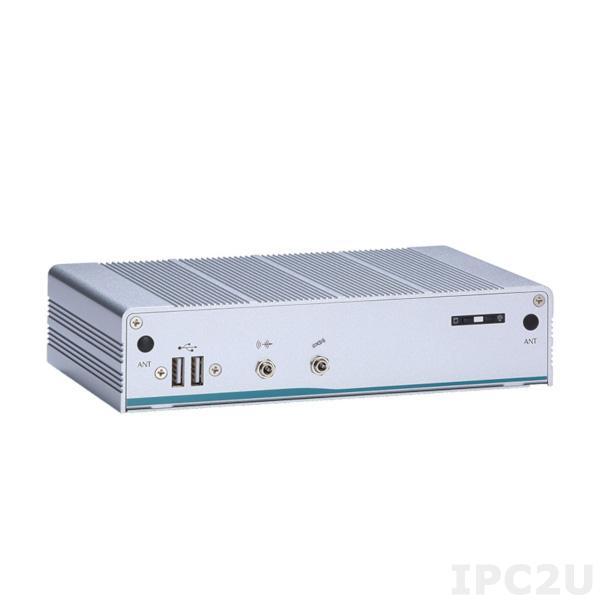 "eBOX625-312-FL-DC-N4200 Встраиваемый компьютер с Intel Pentium N4200 2.5GHz, DDR3L, HDMI, VGA, 2xGbE LAN, 3xCOM, 4xUSB 3.0, 2xUSB 2.0, SIM слот, отсек для 1x2.5"" SATA HDD, mSATA, 2xMini-PCIe, Audio"
