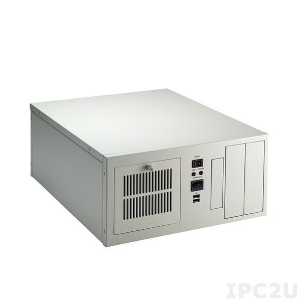 "AX60552WB Компактный корпус, 8 слотов, отсеки 2x5.25""/1x3.5"" HDD, без источника питания"