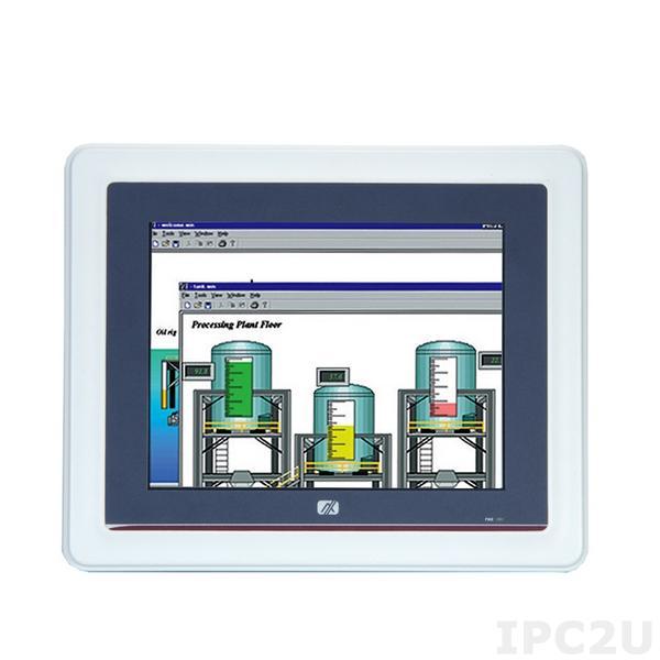 "GOT-5840T-845-DC 8.4"" SVGA TFT безвентиляторный панельный компьютер, Intel Celeron N3060 1.60ГГц, DDR3L, HDMI, 2xGB LAN, 2xCOM, 2xUSB 3.0, Аудио, 2xMini PCIe (1xmSATA), IP65 по передней панели, резист. сенсорный экран, питание DC"