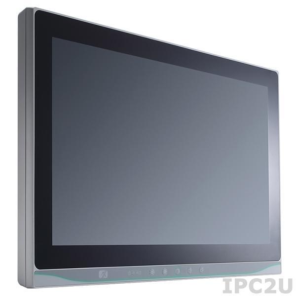 "MPC153-834-PCT-DC Медицинская панельная безвентиляторная рабочая станция 15"" WXGA TFT, емкостный сенсорный экран, Intel Celeron J1900 2.0ГГц, 1x204-pin SO-DIMM DDR3L, 1xHalf-Slim SSD, 1xCFast, 3xCOM, 2xGbE LAN, 2xUSB, 2xPCIe, Аудио, питание 9-36В DC"