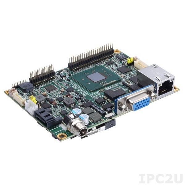 PICO842VGA-J1900 w/acc Процессорная плата PICO842 с процессором Intel Celeron J1900 2-2.42ГГц, VGA/LVDS, Gigabit Ethernet, 2xCOM, 4xUSB, Audio, с интерфейсом ввода/вывода AX93283, радиатор, кабели