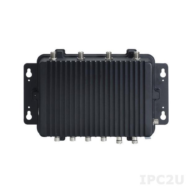 "eBOX800-841-FL-DC Защищенный встраиваемый компьютер с IP67, ЦПУ: Intel Atom E3845 1.91ГГц, до 8Гб DDR3L, VGA, 2xLAN, 2xCOM, 2xUSB 2.0, отсек 1x2.5"" SATA HDD, mSATA, 2xMini-PCIe, SIM слот, 9...36В DC, -20...+60C"