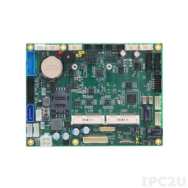 CEB94021VGA Базовая плата для модулей COM Express Type-6, VGA, 1xRS232, 3x485, 1xSATA,2xGLAN, HD Audio, 2xUSB 2.0, 4xUSB 3.0, DIO, mSATA,1xMini-PCIe