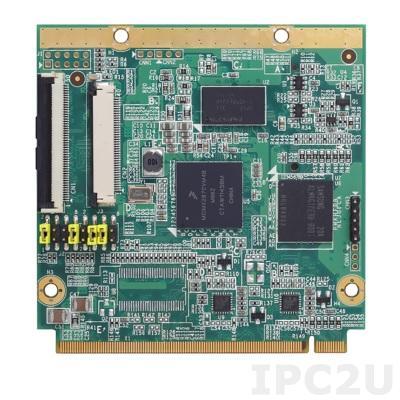 Q7M100-287 Процессорная плата Q7 с процессором Freescale iMX-28 454МГц, DDR2-667 до 128 МБ, eMMC flash 4ГБ, SDHC,LCD до 24-бит TTL RGB, 2x10/100 Mbps Ethernet, 4xcom, 1xOTG, 1xhost,2 x I2C, GPIO, 2xCAN, SPI, -40...+70C