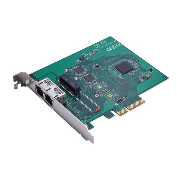 AX92322 4-портовая плата захвата изображения, шина PCI Express, интерфейс GigE