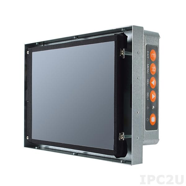 """P6841OR-AC-U 8.4"""" TFT монитор, яркость 450 нит, 800x600, резистивный сенсорный экран (USB), 1xVGA, 1xDVI, 1xHDMI, адаптер питания AC-DC"""