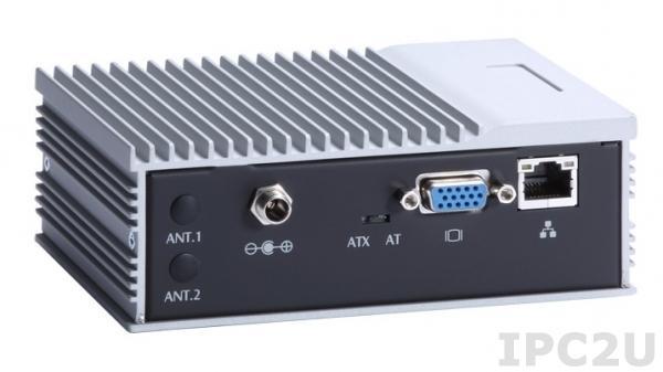 eBOX530-840-FL-E3825-1.33G-VGA Встраиваемый компьютер с Intel Atom E3825 1.33ГГц, VGA, GbE LAN, 4xUSB, Audio, 2xCOM, температурный диапазон -20C...+60C, блок питания AC-DC 36Вт