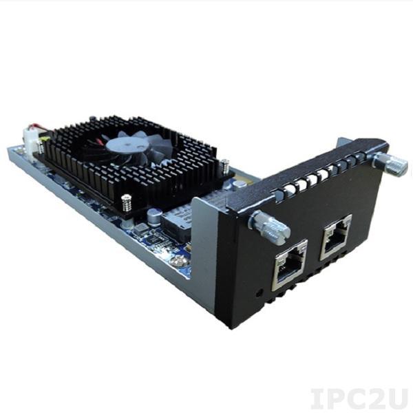 AX93317-2GIL Модульная сетевая карта для серверов сетевой безопасности серии NA5*, 2 портa 10G RJ45 LAN, LAN Bypass