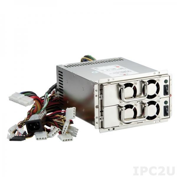 PS500-HRP Резервируемый Mini Redundant источник питания ATX переменного тока, вход 100...240В, 500Вт, PFC