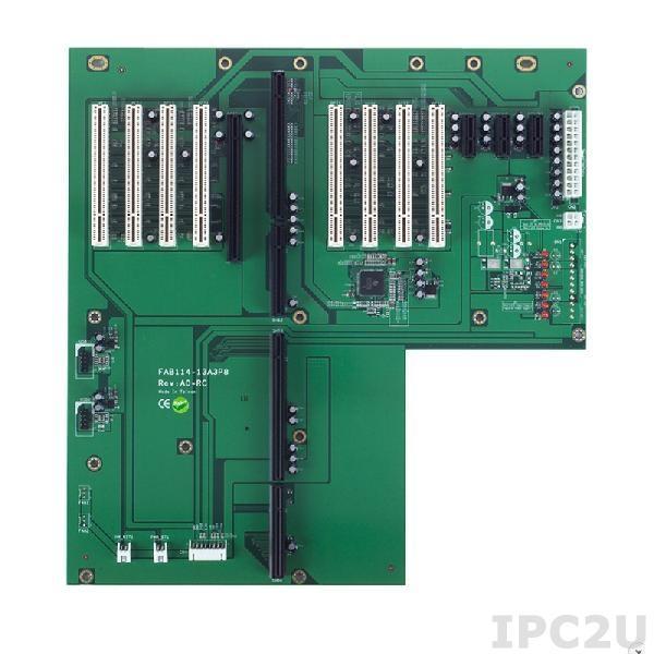 FAB114-13A3P8-RC Объединительная плата PICMG 1.3, 13 слотов, 1xPICMG 1.3, 8xPCI, 3xPCIe x1, 1xPCIe x16