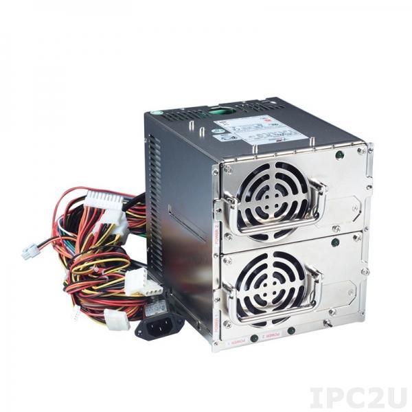 PS401-HRP Резервируемый PS/2*2 источник питания ATX переменного тока, вход 90...264В, 400Вт, PFC