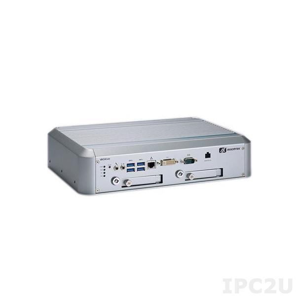 """tBOX500-510-FL-i7-TMDC Встраиваемый компьютер для морского применения с Intel Core i7-7600U 2.8-3.9ГГц, DDR4, DVI-I, GbE LAN, COM, 4xUSB 3.0, отсеки 2x2.5"""" SATA, mSATA, Audio, 14-32 В DC, -40...+70C"""