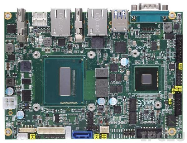 """CAPA881VHGGA-i5-4402E-HM Процессорная плата формата 3.5"""" с Intel Core i5-4402E 1.6ГГц, чипсет Intel HM86, DDR3, VGA/LVDS/HDMI, 2xLAN, 4xCOM, 6xUSB, Audio"""