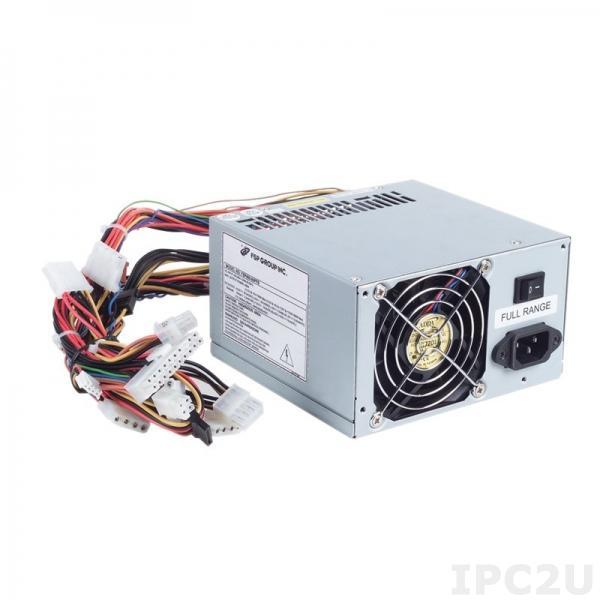 PS400-XP2 PS/2 источник питания ATX переменного тока, вход 90...264В, 400Вт, PFC