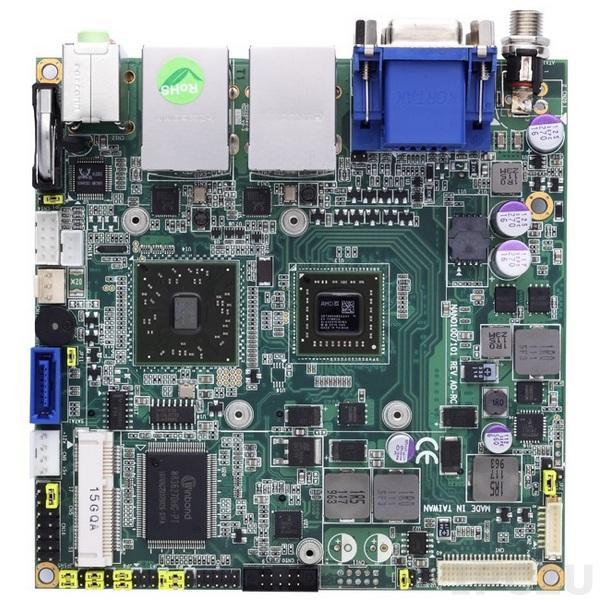 NANO101VGGA-T40R Процессорная плата Nano-ITX AMD G-Series APU T40R 1.ГГц + A50M с DDR3, VGA/LVDS, 2xGigabit LAN, 2xCOM, 6xUSB, CFast, Audio