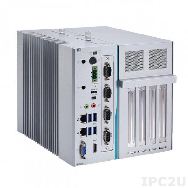 """IPC964-512-DC-FL Многослотовый встраиваемый компьютер с Intel Core i7/ i5/ i3 6th/7th gen, DDR4, HDMI, VGA, 2xGB LAN, 4xUSB 3.0, 1x PCI Express Mini полного размера, отсеки 2x2.5"""" HDD, Audio, 24VDC"""