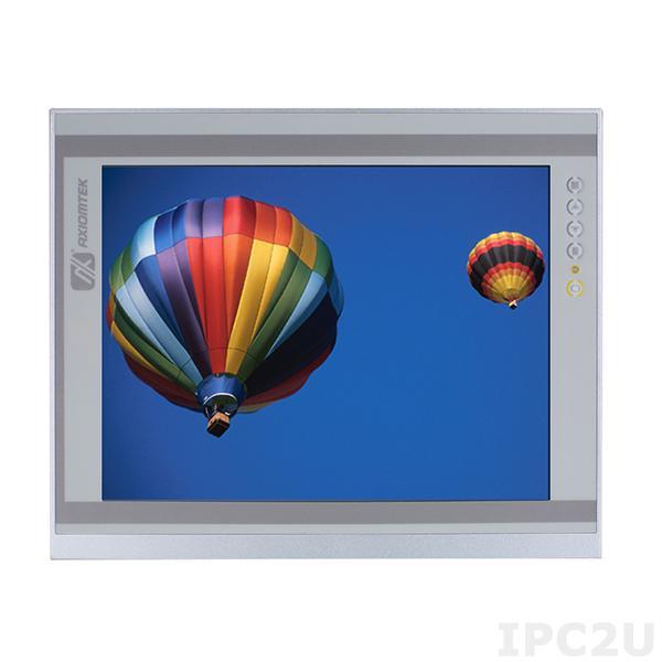 """P6151PR-24VDC-RS 15"""" TFT монитор, яркость 420 нит, 1024x768, резистивный сенсорный экран (RS-232), 1xVGA, 1xDVI-D, HDMI, питание 12-24В DC"""