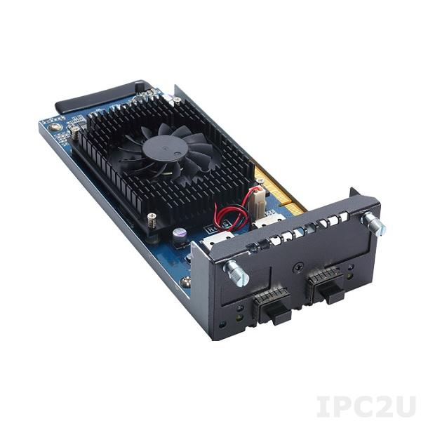 AX93307-2FI Модульная сетевая карта для серверов сетевой безопасности серии NA5*, 2 портa 10G SFP LAN