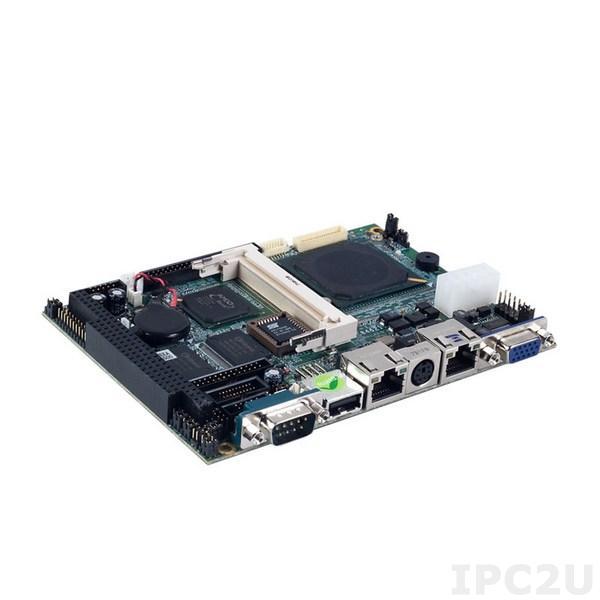 """SBC84621VEA-500-RC w/18LVDS Процессорная плата формата 3.5"""" с AMD LX800 500МГц, VGA/18-bit LVDS, 1xLAN, Audio, 4xCOM, 1xPC/104, 8-канальный ввод/вывод"""