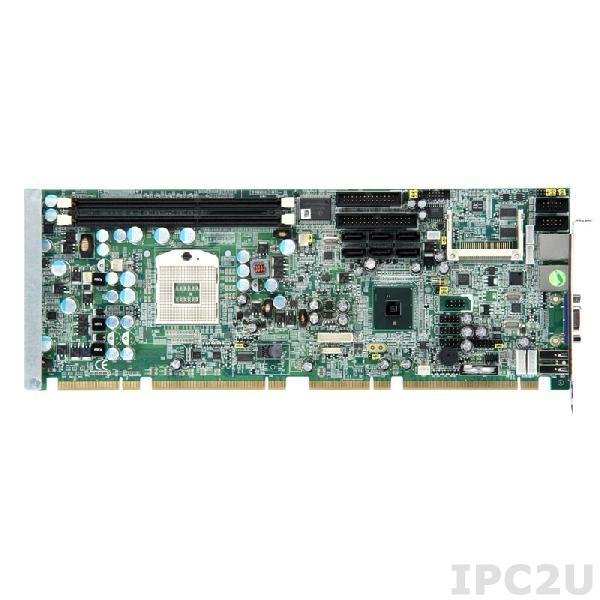 SHB111VGGA Процессорная плата PICMG 1.3, Socket G, Intel Core i7/i5/i3, Intel QM57, 2x 240-pin DDR3-800/1066, 1x VGA, 6x SATA-300, 1xFDD, 2x PS/2, 1x LPT, 2x COM, 10x USB 2.0, 2xGbit LAN, Audio, x4 BIOS