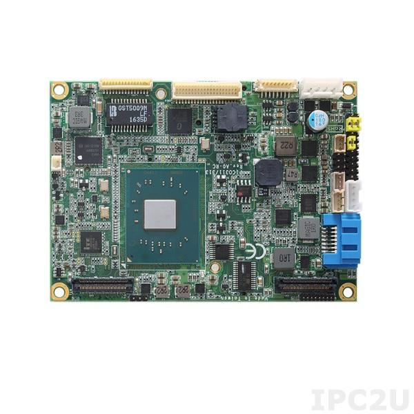PICO313LG-N3350 Процессорная плата Pico-ITX, Intel Pentium N3350,1x201-pin DDR3L-1867 SO-DIMM 8ГБ, 2xPCI, 1xLPC, 1xDDI, 1xSATA-600, 4xUSB 3.0, 1xUSB 2.0, 1xLVDS, 1xLAN, Audio, -20...+70C