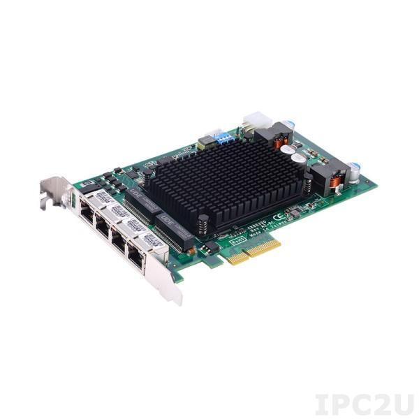 AX92320 4-портовая плата захвата изображения, шина PCI Express, интерфейс GigE